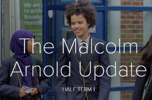 The Malcolm Arnold Update - Half Term 1